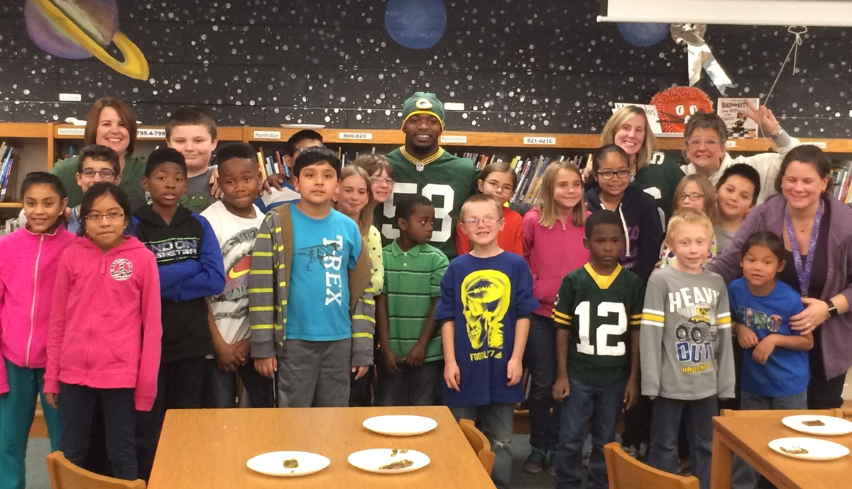 Sam Barrington Models Volunteerism